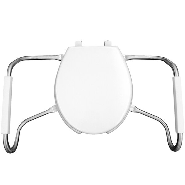 Medic Aid Open Front Round Toilet Seat by Bemis