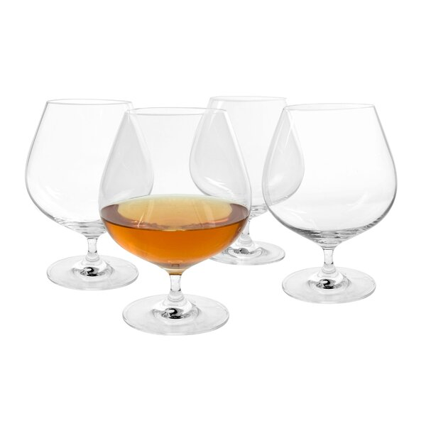 Veritas Cognac 26 oz. Crystal Snifter/Liqueur Glass (Set of 4) by Artland