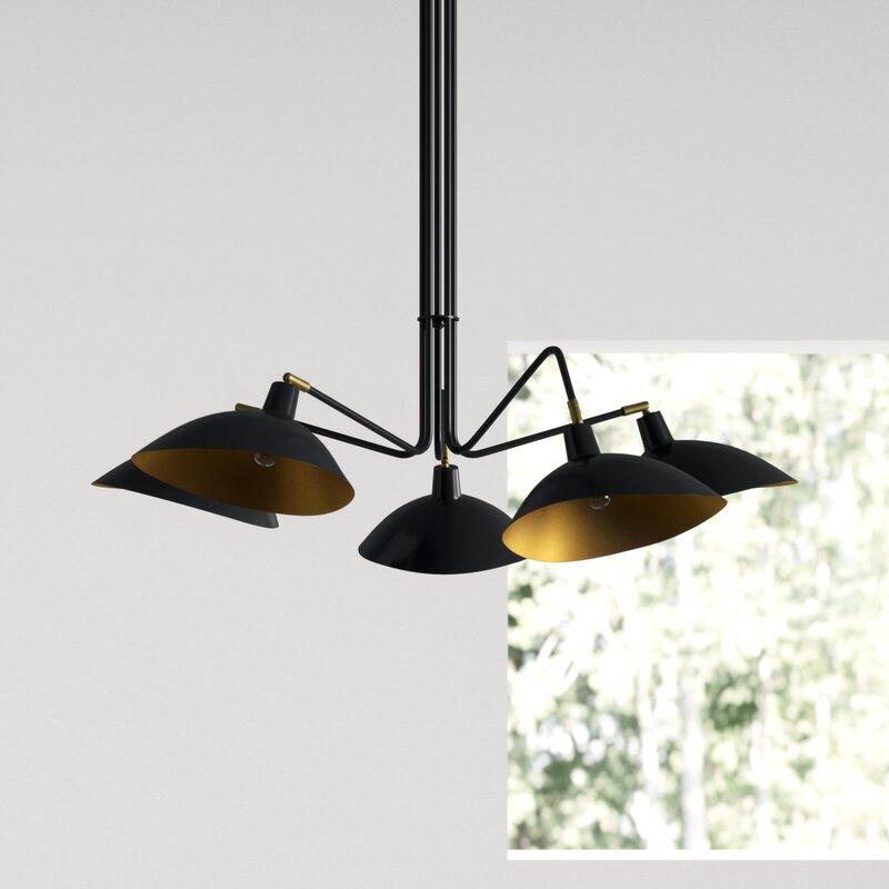 Manzano 5 Light Shaded Clic