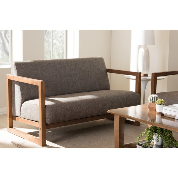 Valencia Mid-Century Loveseat by Wholesale Interiors