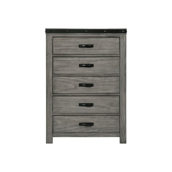 Pfeiffer 5 Drawer Chest by Loon Peak