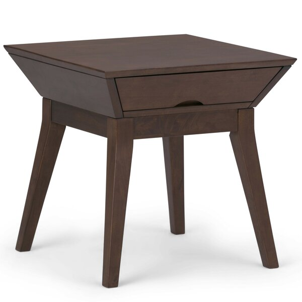 Alderete End Table with Storage by Corrigan Studio