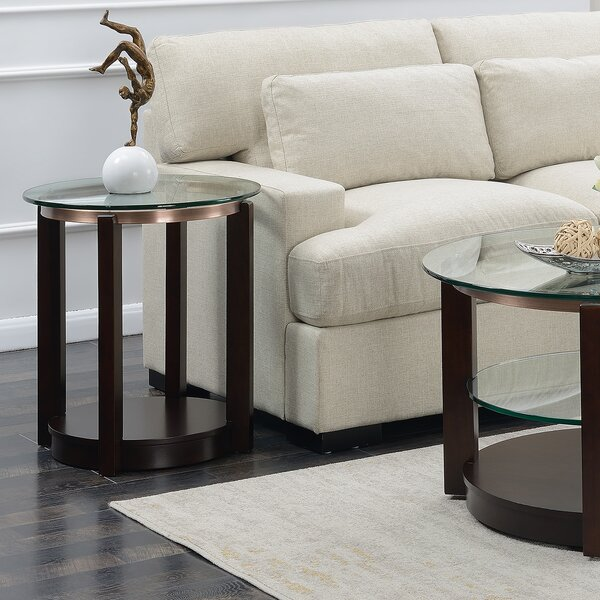 Merseles End Table By Alcott Hill