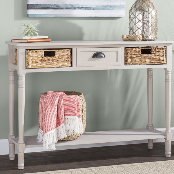 Compare & Buy Santa Cruz Console Table by Beachcrest Home