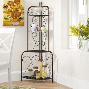 Check Out Snowberry Iron Baker's Rack Buy & Reviews