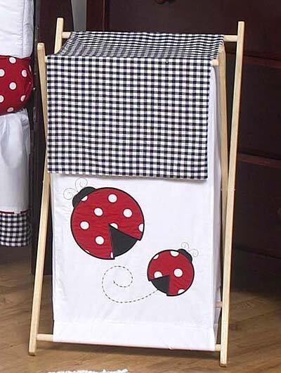 Little Ladybug Laundry Hamper By Sweet Jojo Designs.