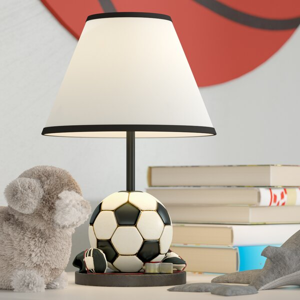 Arlinna Soccer Ball 12 Table Lamp by Zoomie Kids