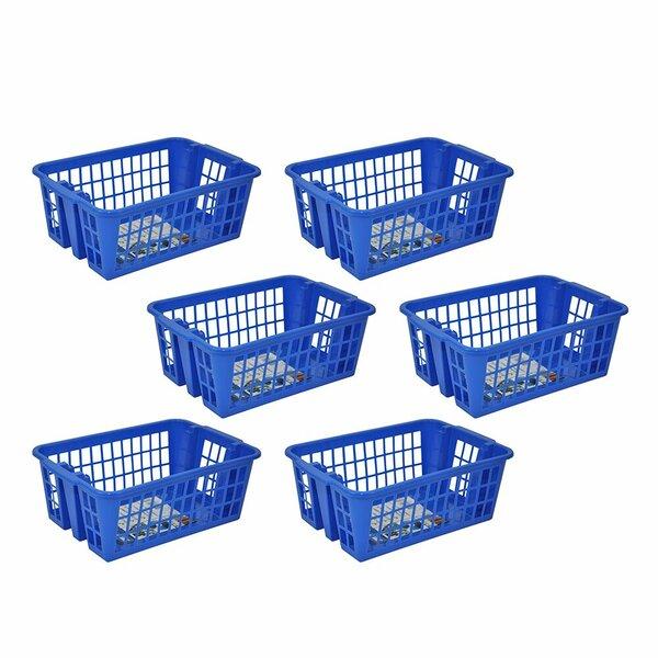 Medium Stackable Storage Basket (Set of 6) by Symple Stuff