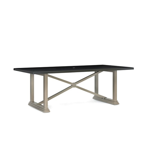 Grayson Aluminum Dining Table by Winston