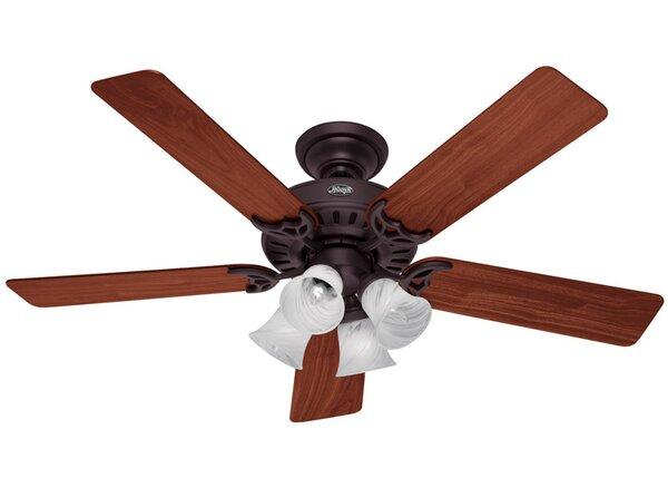 52 Studio 5 Blade Ceiling Fan by Hunter Fan