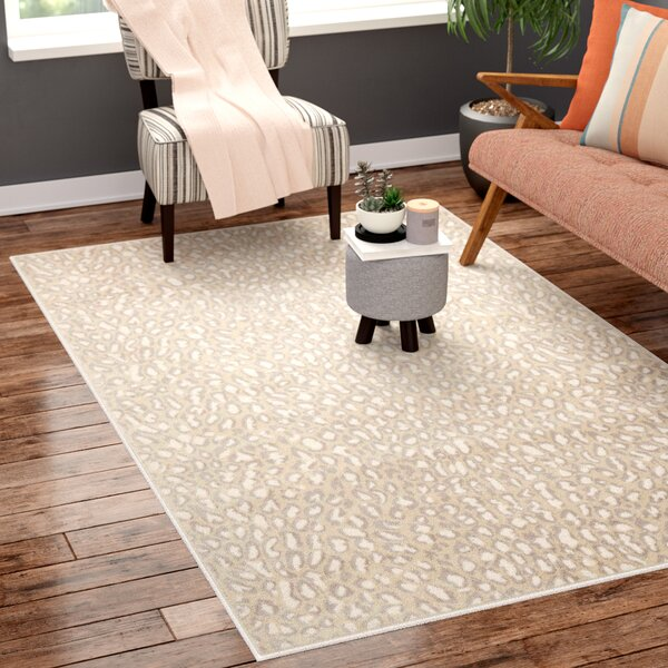 Brady Almond Area Rug by Ebern Designs
