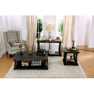 Althea Transitional 3 Piece Coffee Table Set Alcott Hill