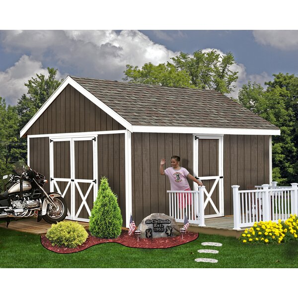 Easton Solid Wood Storage Shed by Best Barns