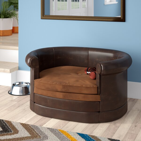 Deon Oval Cushy Dog Sofa by Archie & Oscar