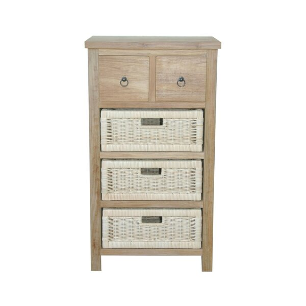 Safari 5 Drawer Accent Chest by Anderson Teak Anderson Teak