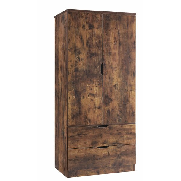 Solorio Wooden Armoire by Foundry Select