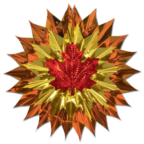 Fall/Thanksgiving Fall Leaf Fan-Burst by The Holiday Aisle
