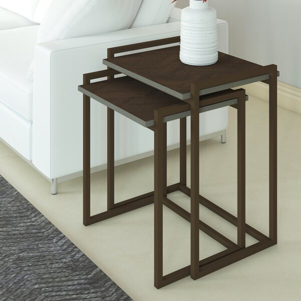 Woodcock 2 Piece Nesting Tables By Ebern Designs