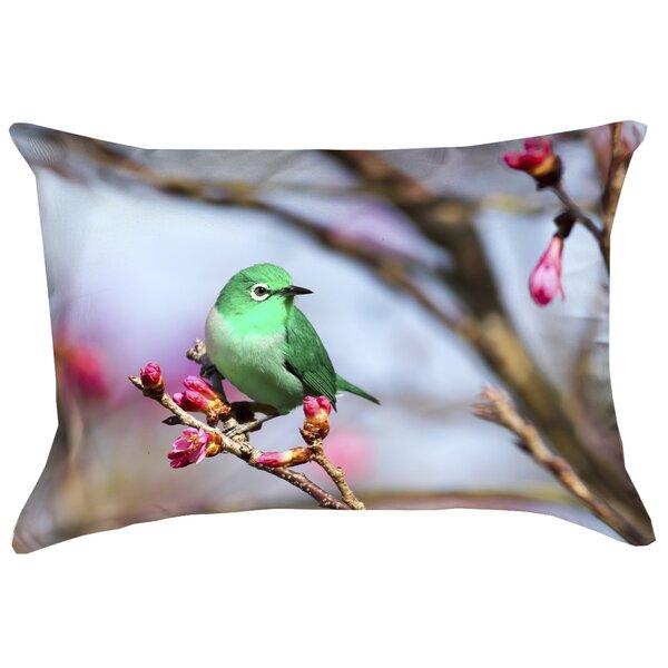 Carmina Smith Outdoor Bird Double Sided Print Lumbar Pillow
