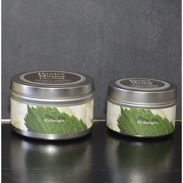 Artisan Hydrangea Jar Candle by Baxter Manor