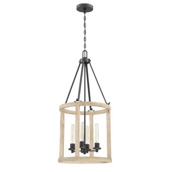 Maranda 4 - Light Lantern Geometric Pendant by Union Rustic Union Rustic