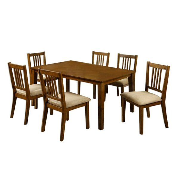 Meuse Transitional 7 Piece Dining Set by Red Barrel Studio