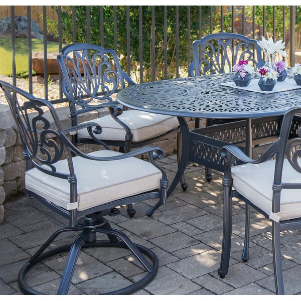 Beaufort Patio Chair With Cushion (Set Of 2) By World Menagerie by World Menagerie Wonderful