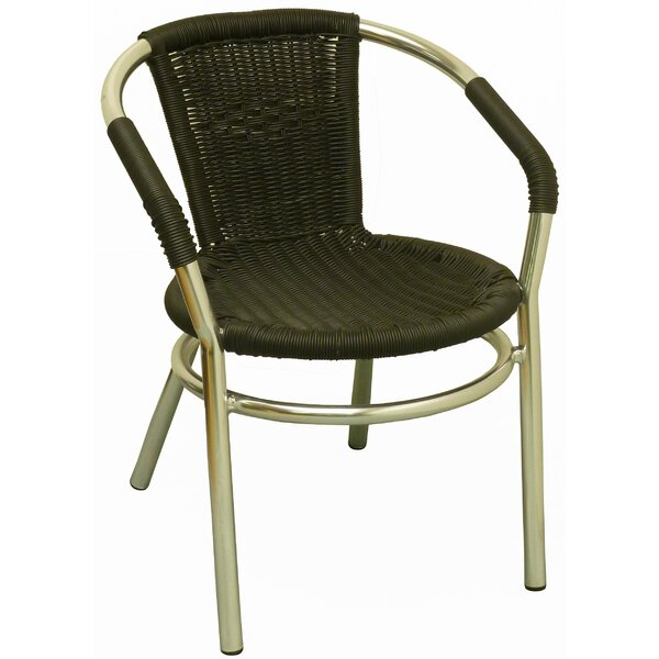 Stackable Patio Chair (Set of 2) by DHC Furniture