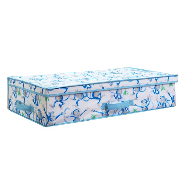 Fabric Cheeky Monkey Under The Bed Storage by Laura Ashley Home