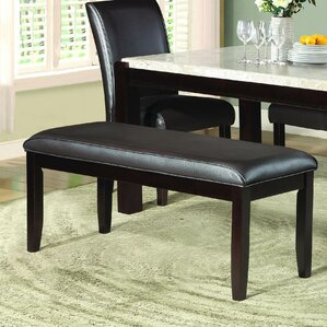 Wobnar Upholstered Bench by Latitude Run