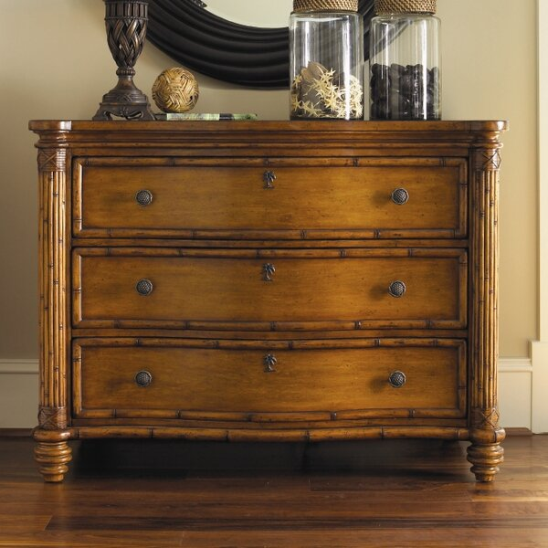 Great price Island Estate 3 Drawer Dresser By Tommy Bahama Home Today Sale Only