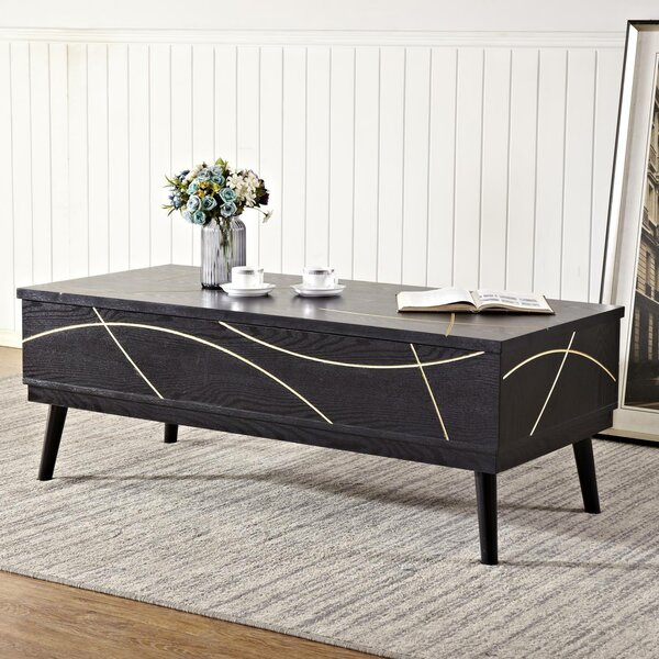 Wall Coffee Table with Storage by Mercer41