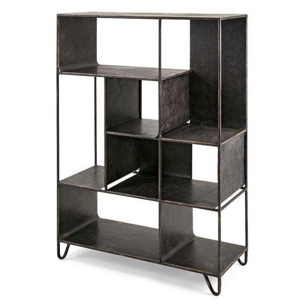 Gray Standard Bookcase by Trent Austin Design