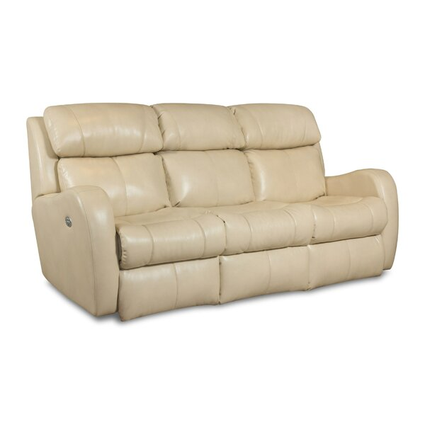 Siri Leather Reclining Sofa by Southern Motion