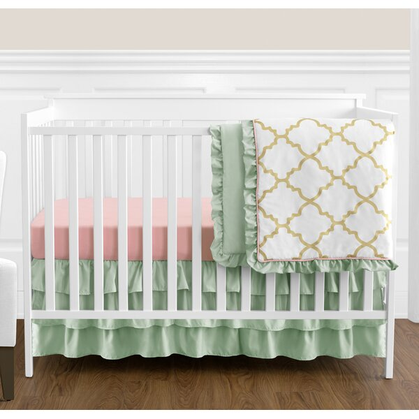 Ava 4 Piece Crib Bedding Set by Sweet Jojo Designs