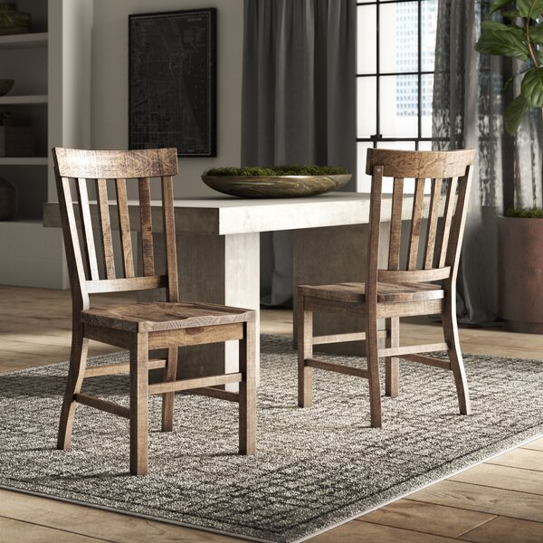 Filkins Solid Wood Dining Chair (Set Of 2) By Greyleigh