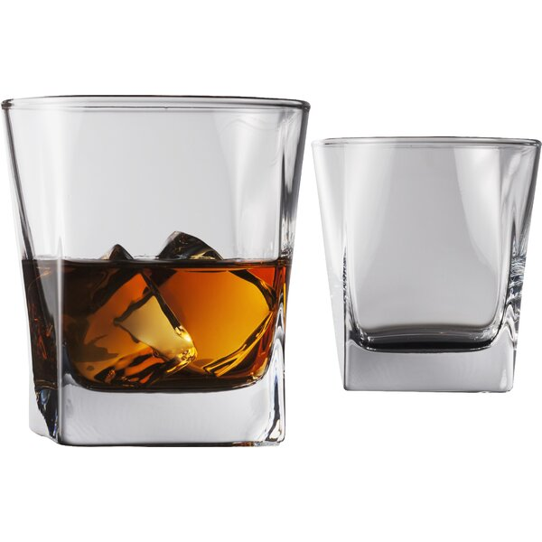 Cube 10.5 oz. Double Old Fashioned Glass (Set of 4) by Flato Home Products