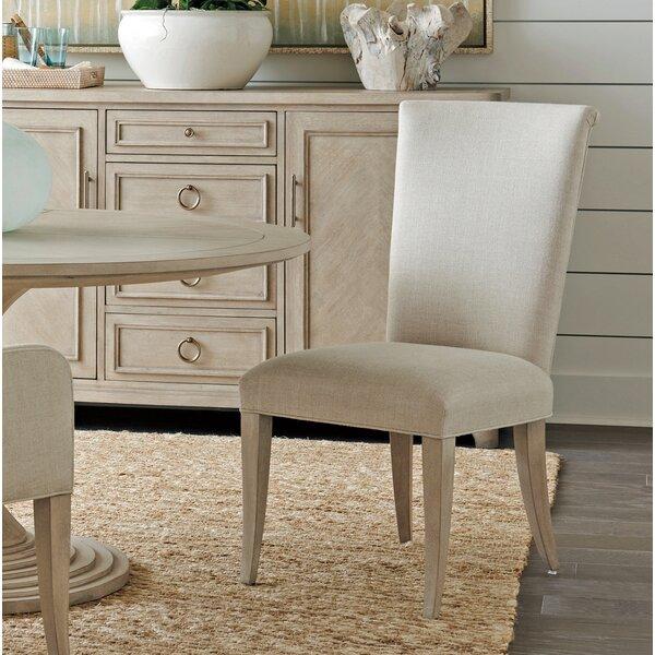 Malibu Upholstered Dining Chair by Barclay Butera Barclay Butera
