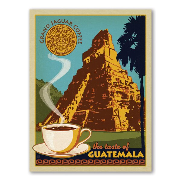 Coffee Guatemala Vintage Advertisement by East Urban Home