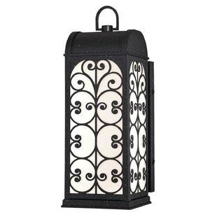 Price Check Sen 1-Light Outdoor Wall Lantern By Gracie Oaks
