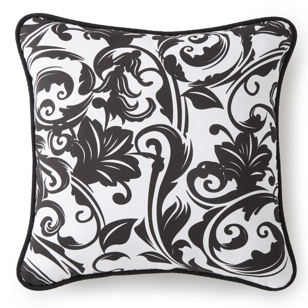 Lyonsdale Damask Cotton Throw pillow by Darby Home Co