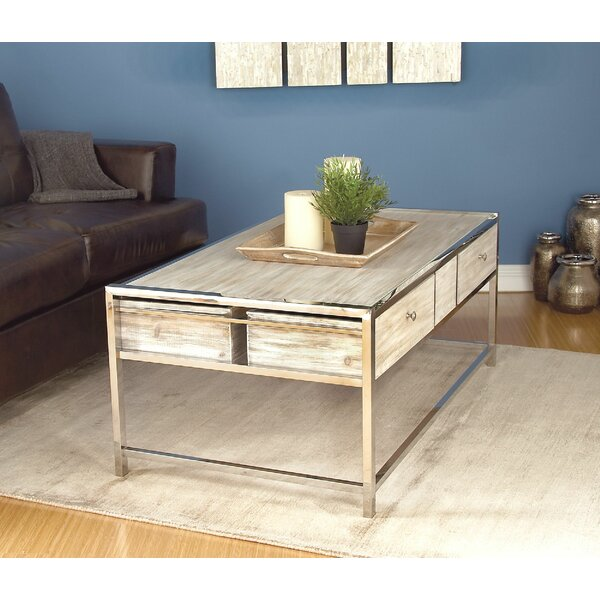Amot Contemporary Coffee Table with Storage by Highland Dunes Highland Dunes