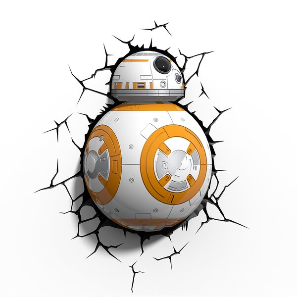 3D EP.7 Star Wars BB-8 Deco 3-Light Night Light by 3D Light FX