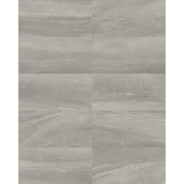 Core 12 x 24 Porcelain Field Tile in Gray by Parvatile