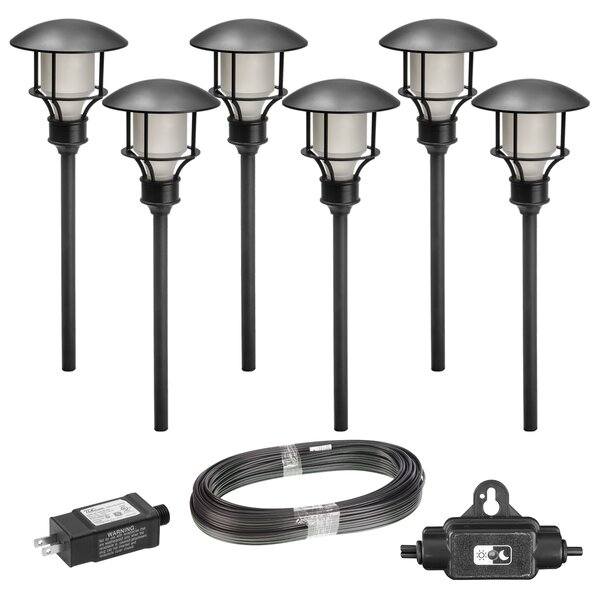6 Light LED Pathway Light (Set of 6) (Set of 6) by Paradise Garden Lighting