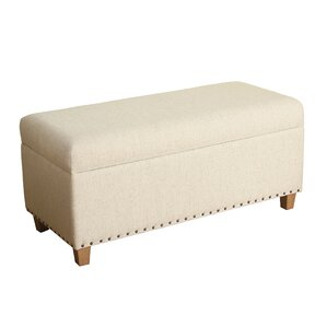Courtemanche Upholstered Storage Bench by Red Barrel Studio