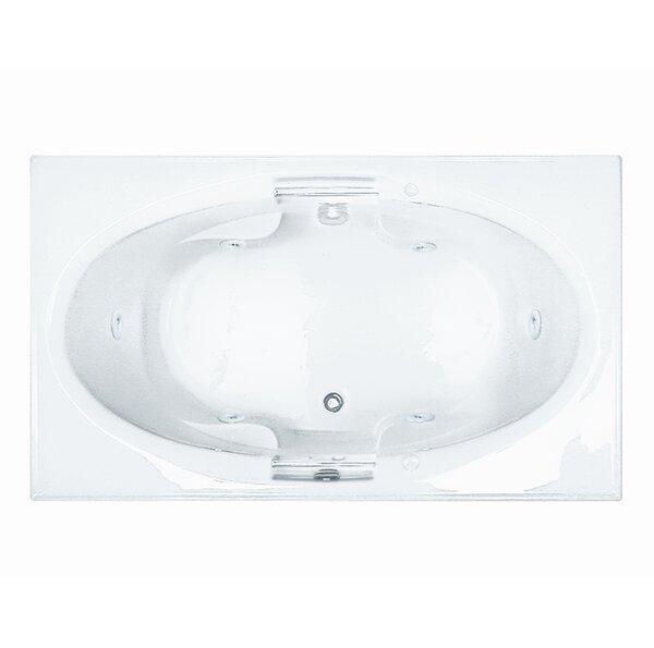 Reliance 71 x 42 Whirlpool Bathtub by Reliance