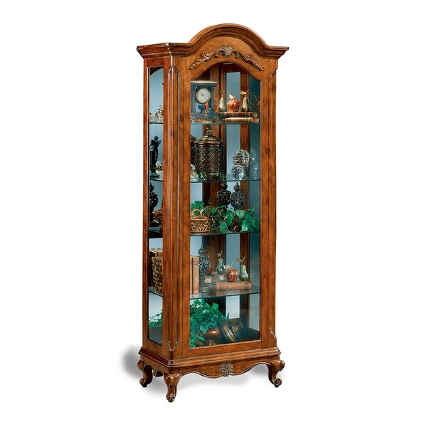 Charlemagne Lighted Curio Cabinet By Philip Reinisch Co. Cool