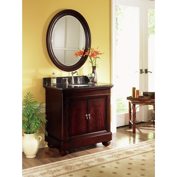 Sereno 30 Single Bathroom Vanity Set with Mirror by World Menagerie
