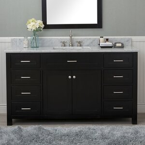 Cecilton 60″ Single Bathroom Vanity